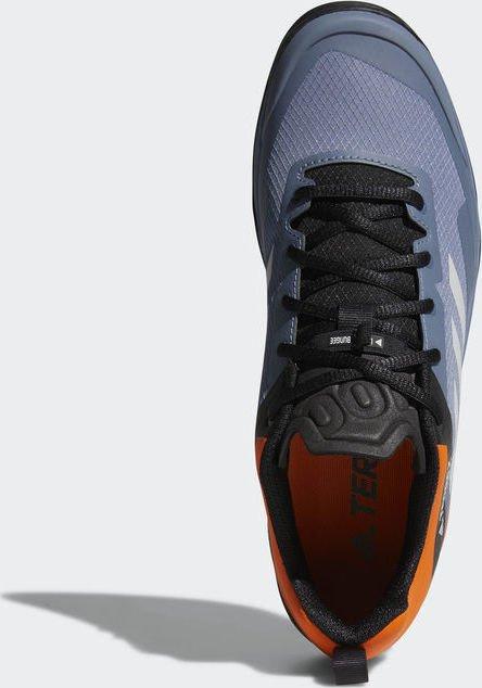 141b14f48241a7 adidas Terrex Trail Cross SL raw steel grey one orange (Herren) (CM7563)