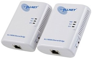 Allnet ALL168502 Starterkit 2er-Pack, 500Mbps, Gb LAN