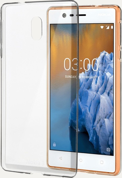 Nokia CC-103 Slim Crystal Cover für Nokia 3 transparent (1A21M0D00VA)