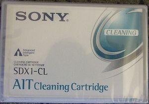 Sony AIT-1 Reinigungskassette (SDX1-CL) -- Dieses Bild wurde uns freundlicherweise von einem User zur Verfügung gestellt