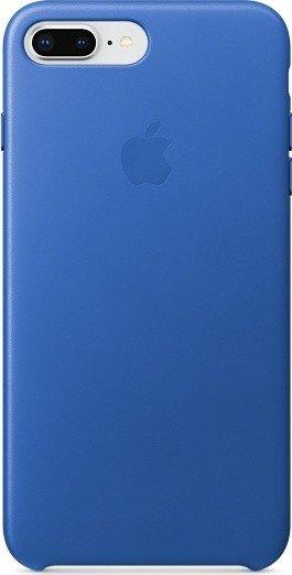 apple leder case f r iphone 8 plus electric blau mrg92zm. Black Bedroom Furniture Sets. Home Design Ideas