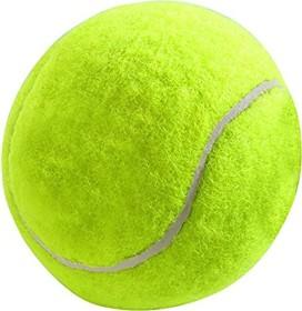 Hunter tennis ball, rubber, felt, yellow, 6cm, 12-pack (92378)