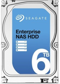 Seagate Enterprise NAS HDD 6TB, +Rescue, SATA 6Gb/s (ST6000VN0011)