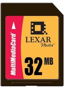 Lexar MultiMedia Card (MMC) 32MB (MMC032)
