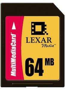 Lexar MultiMedia Card (MMC) 64MB (MMC064)