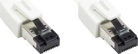 Good Connections RNS Patchkabel, Cat8.1, S/FTP, RJ-45/RJ-45, 5.0m, weiß (8080-050W)