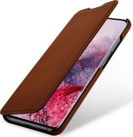 Stilgut Book Type Leather Case für Samsung Galaxy S20 braun (B085S1MYZS)