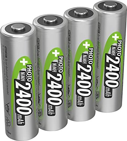 Ansmann Mignon AA NiMH rechargeable battery 2400mAh, 4-pack (5030482/5030532) -- via Amazon Partnerprogramm