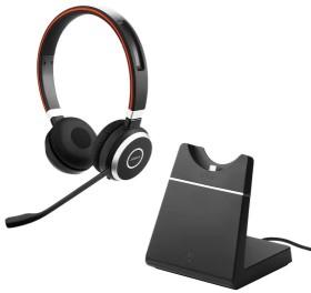 Jabra Evolve 65 UC Stereo inkl. Ladestation (6599-823-499)