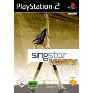 SingStar: Legends (englisch) (PS2)