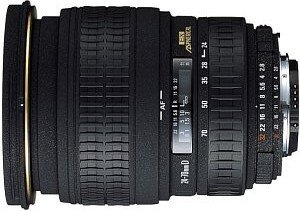 Sigma AF 24-70mm 2.8 EX Asp makro do Nikon F czarny