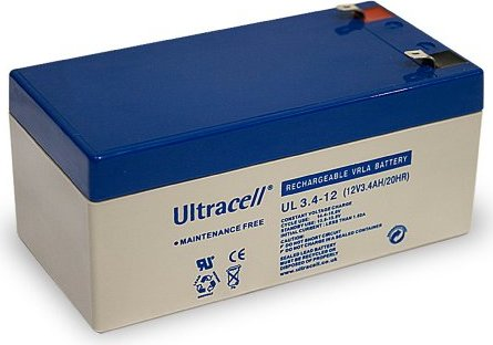 Ultracell Bleiakku UL3.4-12, 12V,  3.4Ah -- via Amazon Partnerprogramm
