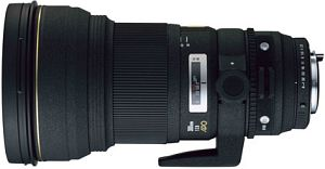 Sigma AF 300mm 2.8 EX APO HSM IF do Nikon F czarny