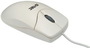 Q-Tec Mouse Scroll, PS/2 (14075)