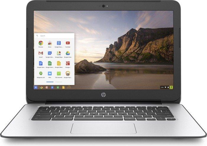 HP Chromebook 14 G4 silber, Celeron N2940, 4GB RAM, 32GB Flash, UK (P5T65EA#ABU)