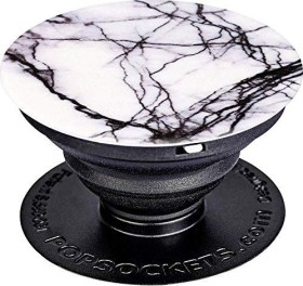 PopSockets PopGrip White Marble (96499)