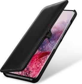Stilgut Book Type Leather Case Clip für Samsung Galaxy S20 schwarz (B085S1HV48)