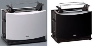 Braun HT 450 Toaster schwarz