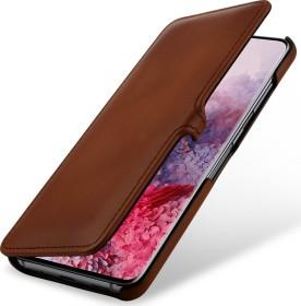 Stilgut Book Type Leather Case Clip für Samsung Galaxy S20 braun (B085S1NWBC)