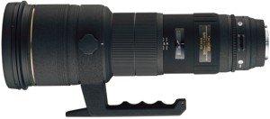 Sigma AF 500mm 4.5 EX APO HSM für Nikon F schwarz