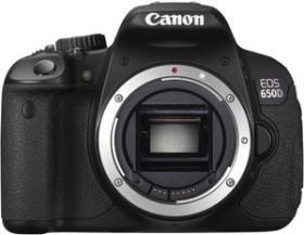 Canon EOS 650D schwarz Body (6559B024)
