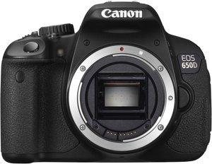 Canon EOS 650D schwarz Gehäuse (6559B024)