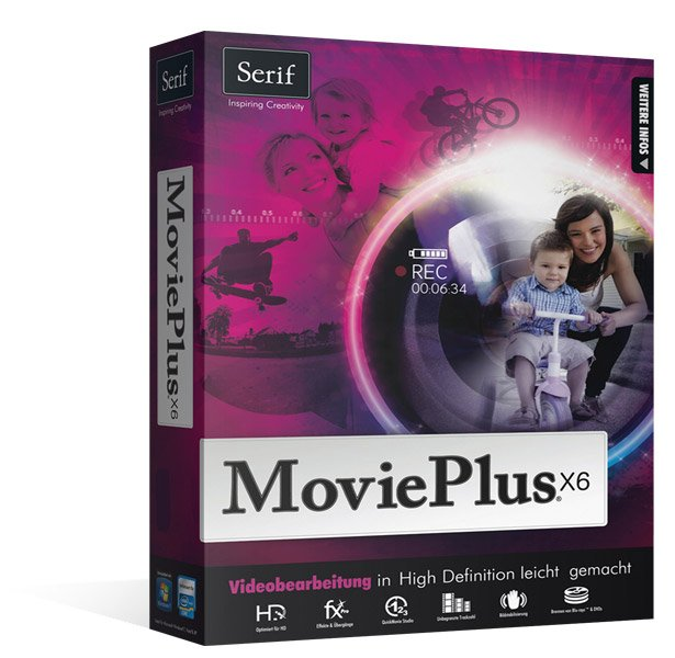 Avanquest: Serif MoviePlus X6, ESD (deutsch) (PC)
