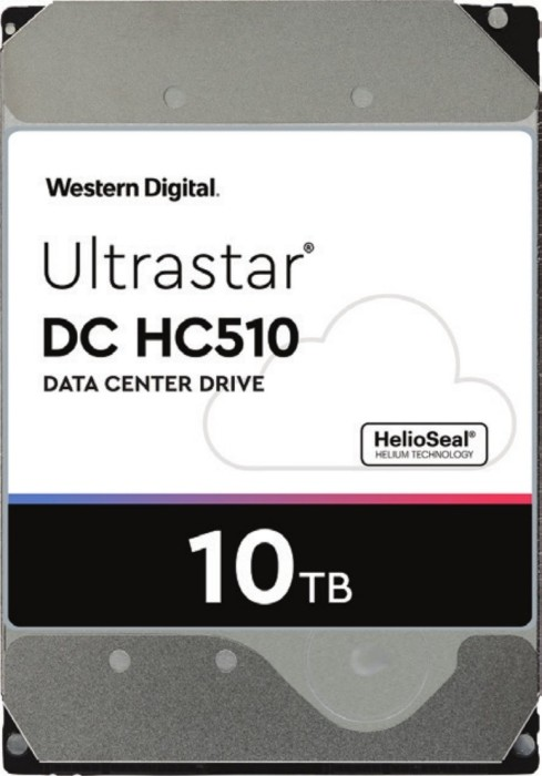 Western Digital Ultrastar DC HC510 10TB, 512e, ISE, P3, SATA 6Gb/s (HUH721010ALE600/0F27452)