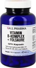 vitamin B Komplex + folic acid GPH capsules, 180 pieces
