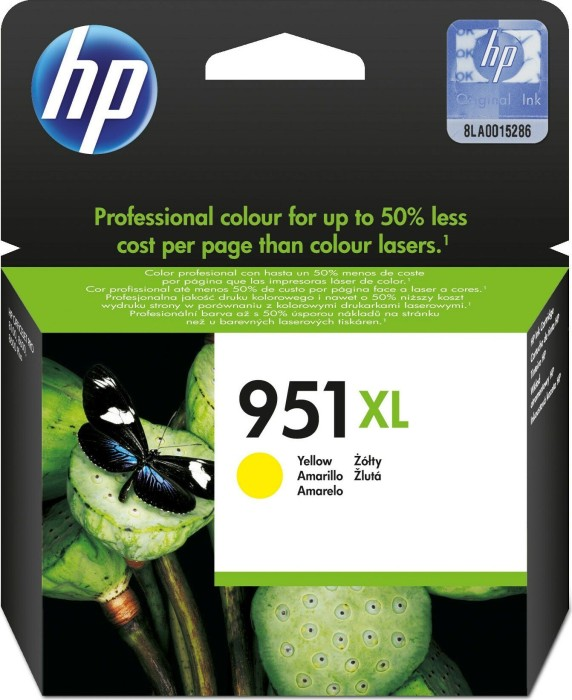 HP ink Nr 951 XL yellow (CN048AE)