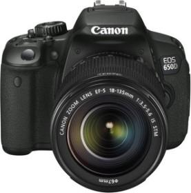 Canon EOS 650D schwarz mit Objektiv EF-S 18-135mm 3.5-5.6 IS STM (6559B032)