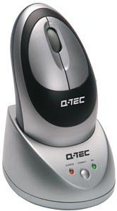 Q-Tec Optical Wireless Mouse, PS/2 (14078)