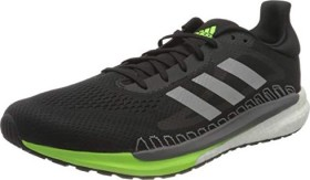 adidas Solar Glide 3 core black/silver metallic/signal green (Herren) (FV7254)