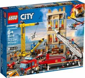LEGO City Feuerwehr - Feuerwehr in der Stadt (60216)