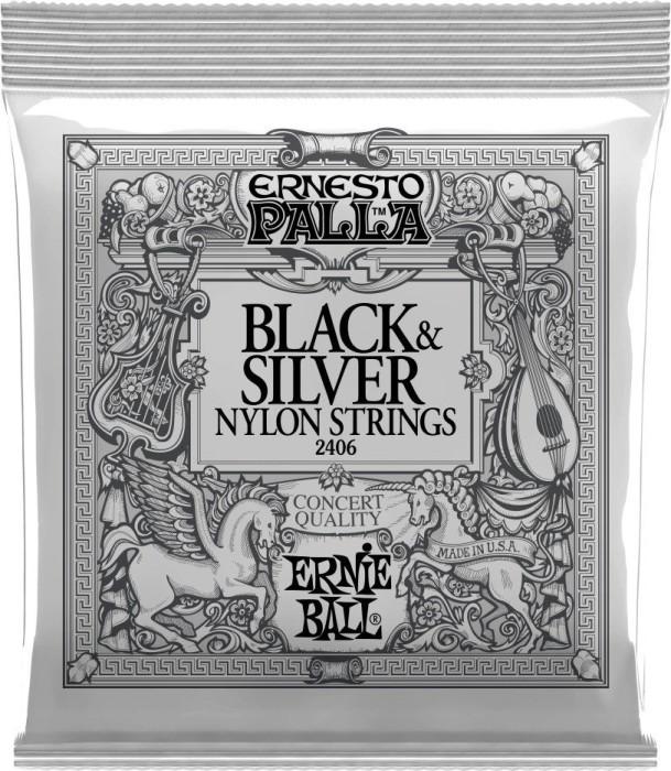 Ernie Ball Ernesto Palla Black & Silver (P02406)