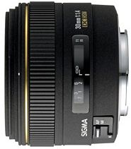 Sigma AF 30mm 1.4 EX DC für Pentax K schwarz (300945)