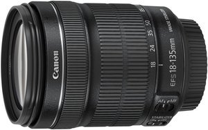 Canon lens EF-S 18-135mm 3.5-5.6 IS STM (6097B005)