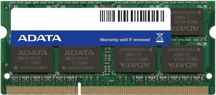 ADATA Premier SO-DIMM 4GB, DDR3L-1600, CL11-11-11-28, single tray (ADDS1600W4G11-S)
