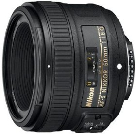 Nikon AF-S 50mm 1.8G schwarz (JAA015DA)