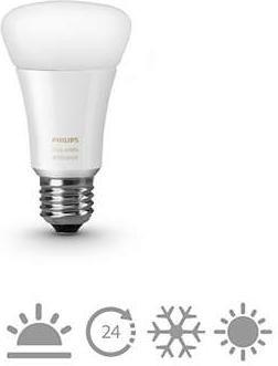 Philips Hue White Ambiance Single LED-Bulb E27 9.5W/822 (8718696548738)