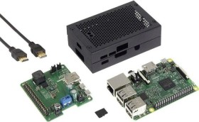 Raspberry Pi 3 Modell B, USV-Wide Range Set