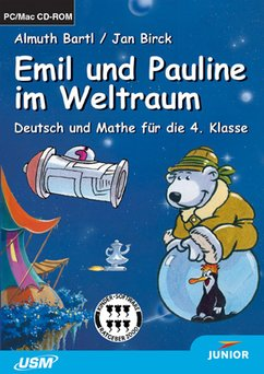 United Soft Media: Junior: Emil und Pauline im Weltraum (PC+MAC)