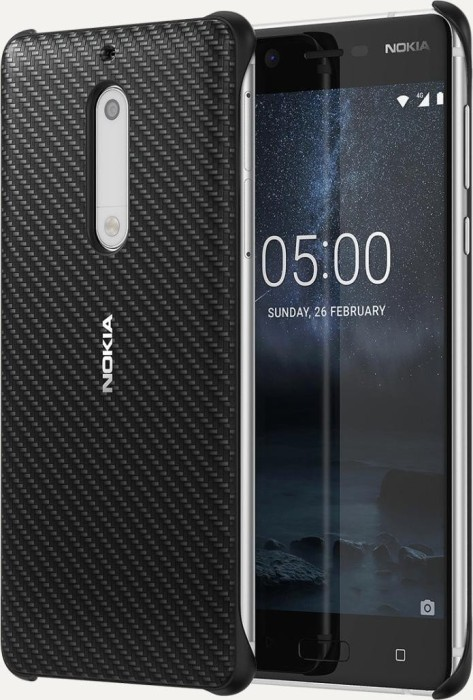Nokia CC-803 carbon fibre Design case for Nokia 5 black (1A21M1E00VA) from  £ 21 08