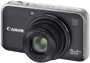 Canon PowerShot SX210 IS black (4246B010)