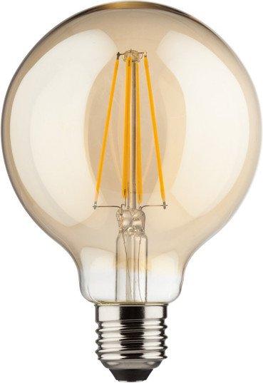 Müller Licht Filament LED Globe Retro E27 8W warmweiß klar (400204)