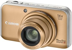 Canon PowerShot SX210 IS gold (4245B010)