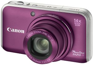 Canon PowerShot SX210 IS purple (4247B010)