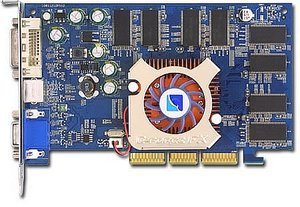 Albatron FX5500Q, GeForceFX 5200, 256MB DDR, DVI, TV-out, AGP