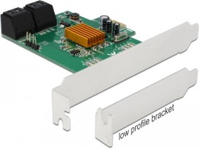 DeLOCK 4x SATA 6Gb/s, PCIe 2.0 x1 (90382)
