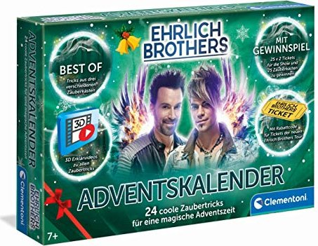 Clementoni Ehrlich Brothers - Advent Calendars 2020 (59180)